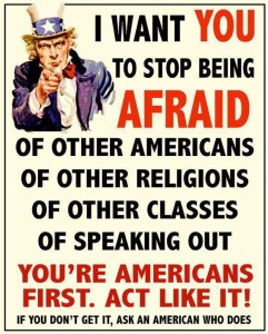 Teaparty fear poster